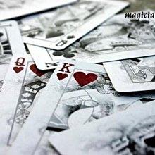 [ 絕版UV500 ] 美國原廠Bicycle撲克牌  Arcane Playing Cards 謎霧牌 全新特殊印