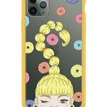 iPhone 11 Pro Max 犀牛盾Mod NX聯名設計款邊框背蓋兩用手機殼 H.H先生 甜甜圈女鬼