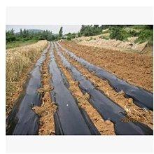 【地膜-黑色-厚0.8絲(0.008mm)2米寬-毛重4kg/組】塑膠薄膜 除草專用黑地膜-5101015