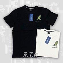 【RTG】KANGOL 短T 小袋鼠 迷彩 迷彩袋鼠 休閒 圓領 棉質 英國 黑色 6021102820 白色 801