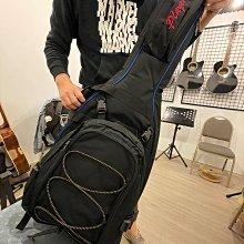 【六絃樂器】全新 Ibanez 黑色電吉他袋 可拆式背包 / 現貨特價