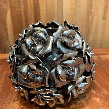 玫瑰花 22朵 花器 純裝飾 燭台 筆座 二手收藏多年但近全新 無原始包裝 實品拍攝 NT$368元不含店到店運費