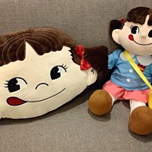 現貨30公分?牛奶妹布娃娃不二家peko同款牛奶妹玩偶娃娃