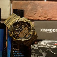 ☾- XinmOOn  CASIO 卡西歐 G-SHOCK GD-120CM-5DR 綠 叢林 迷彩 大錶 GD-120