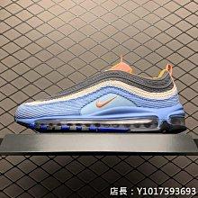 Nike Max 97  Blue Corduroy 3M反光 藍 休閒運動 慢跑鞋 CQ7512-462 男女鞋