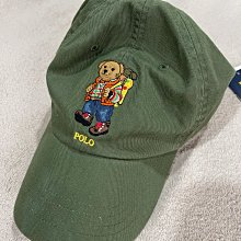 Polo bear Ralph Lauren by Polo 軍綠色polo 熊 刺繡 polo bear 圖案棒球帽 美國官網購入 全新正品 現貨在台