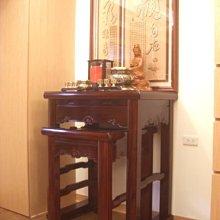 【現代佛堂設計鑒賞119】神明廳佛俱精品神桌佛桌神櫥公媽桌神像佛像祖先龕神聯佛聯製作