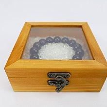 白水晶木盒消磁盒 300g 淨化水晶【吉祥水晶專賣店】 編號BC89