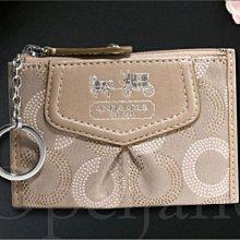 美國真品 Coach 麥迪遜 ID證件夾 悠遊卡夾 零錢包 鑰匙包 名片信用卡夾 車票夾手拿包 免運費 愛Coach包包