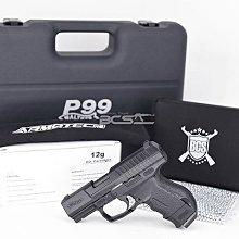【WKT】破盤價套組 WALTHER德國CP99 Compact 4.5mm金屬滑套可覆進版CO2氣槍