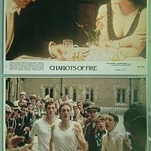 奧斯卡金像獎最佳影片 - 火戰車 (Chariots of Fire) - 原版電影宣傳劇照1組6張 (1981年)