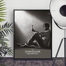INHUASO 癮|画|所 The Shawshank刺激1995經典電影裝飾掛畫勵志掛畫現代家居店面禮品工作室裝飾畫