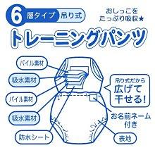 西松屋 日本官網同步 百款花色加厚六層懸吊式超強吸力快乾學習褲