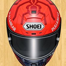 【帽牧屋】『預購』日本 SHOEI X-14 MARQUEZ6 TC-1 全罩式安全帽 選手帽 紅螞蟻 紅/白