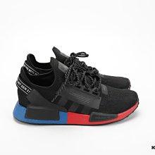 【高冠國際】Adidas NMD_R1 .V2 愛迪達 Boost 黑藍紅 復古 休閒 慢跑鞋 男款 FV9023
