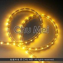110V-黃光LED二線3528水管燈50米 - 燈條 非霓虹 彩虹管 聖誕燈 水管燈 led 條燈 軟燈條 燈飾