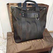 #小謹店舖#Gucci 268175男用托特包 黑色全新 專櫃正品
