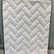 樂居二手家具(中)台中西屯二手傢俱買賣推薦 B120905*雙人5尺白色獨立筒床墊* 2手臥室寢具拍賣 床底 床箱