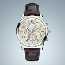 Guess男裝系列 石英 米色錶盤 W0076G2 男士手錶
