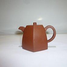 茶壺.紫砂壺.朱泥壺.手拉坯壺/早期六方井壺
