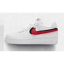 老夫子 Nike Air Force 1 Swoosh Pack潮流時尚慢跑運動鞋男女(AH8462-102)白