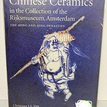 阿姆斯特丹 博物館 館藏 明清瓷器 精裝本(1997年)