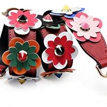[HZP170530-2]~潮品聚落~背包肩帶女包包帶子配件彩色花朵單肩斜背包加寬包帶-20款