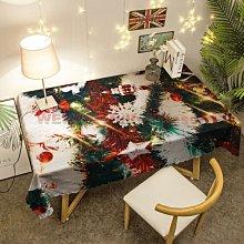 【免洗】【節日】聖誕節餐桌布防水耐臟狂歡節南瓜頭桌巾臺布 遇見良品V43YWH