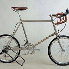 《【政點單車坊】》023全新經典 MHL鹿牌 Herten Sandro-ms 大銅焊鋼管小徑車車架組