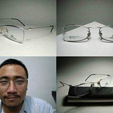 【信義計劃眼鏡】 LACOSTE 鱷魚光學眼鏡 超輕小框 搭配襯衫POLO衫T恤皮鞋皮帶毛衣外套