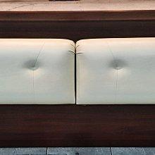 樂居二手家具館 便宜2手傢俱家電賣場 B0414BJ 胡桃六尺床頭櫃 床頭箱 置物箱 臥室家具拍賣 滿千送百豐富喜悅新竹