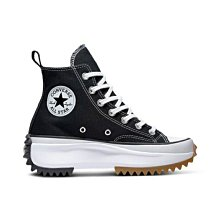 【E.D.C】Converse Run Star Hike HI 星星 厚底 高筒 黑色 男女鞋 166800C