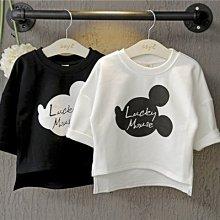 【溜。溜。選物】春夏新款*小童打底衫卡通印花七分袖T恤