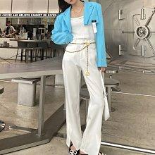 新款Chanel 香奈兒 休閒褲 西裝褲 LOGO字母鏈條休閒西褲 版型超贊 直筒褲型 四季可穿 通勤休閒都好搭配 3色SML