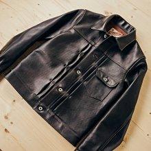 客戶託售【Y2 Leather】全新僅試穿日本製《36號》最頂皮革 LB-140 1st 一代牛仔夾克馬皮皮衣