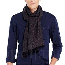 美國 官網 真品 A|X Armani Exchange AX 阿曼尼 黑色 柔軟 長型 圍巾 亞麻/棉 免運費男女適用