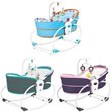 優兒堡-KOOMA 5in1睡箱式搖椅(海洋藍/珊瑚綠/公主粉)