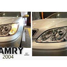 》傑暘國際車身部品《全新 CAMRY 04 05 2004 2005 年2.0專用HID 大燈 一邊3500元