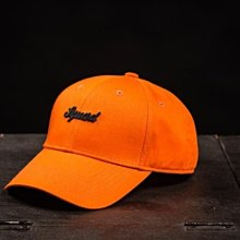 (MARVELOUS) SQUAD 17A/W SQUAD LOGO Sketch HAT 草寫電繡老帽 橘色
