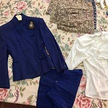 日本東京会社員制服原裝一套 (日本著名設計師設計)外商制服  類似華航空姐制服