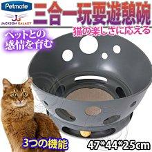 【🐱🐶培菓寵物48H出貨🐰🐹】PETMATE》傑克森三合一玩耍遊憩碗DK-31437 特價889元(限宅配)