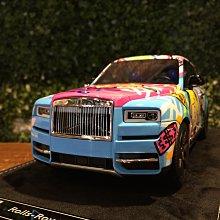 1/18 HH Model Rolls-Royce Cullinan Richie Rich Edition【MGM】