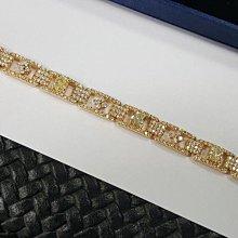 【連漢精品】天然鑽石手鍊 手環共8.62克拉 (325P)鑚石手鍊 手鍊  附贈3張黃彩鑽珠寶鑑定書