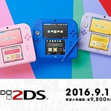 《蘆洲•翔天》任天堂 Nintendo 2DS 主機 日規機 內附原裝電源 黑色 送保護貼