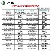 【AOSmith】AO史密斯 美國百年品牌 300L落地儲熱型電熱水器 ECT-80 一體機