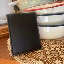 鄉村雜貨小市集*zakka 日本購回 工業風鐵製小黑板留言板