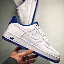 Nike Air Force 1 Low 白藍 AF1 皮革 空軍 經典 低幫 滑板鞋 CD0884-102 情侶鞋