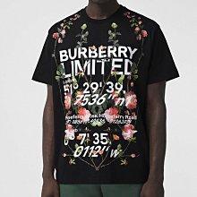 【妖妖代購】Burberry 21春夏新款蒙太奇字母印花T恤 男女同款