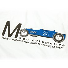 (I LOVE樂多) MOON Equipped Blue Roadster長袖T桖 (S~XL)[MQTL162WH]