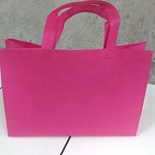 現貨新款粉 不織布袋 每個7元滿1000免運 精美紙袋 購物袋 服飾袋 手提袋35*10*25cm每包50個350元